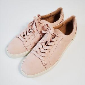 Frye Ivy Low Lace Sneaker, Pink